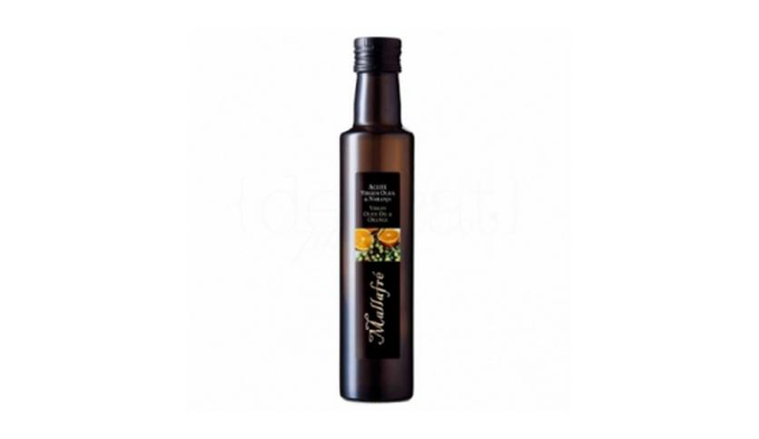 Local products Aceite de oliva virgen con Naranja 250ml. Mallafré. 12un.