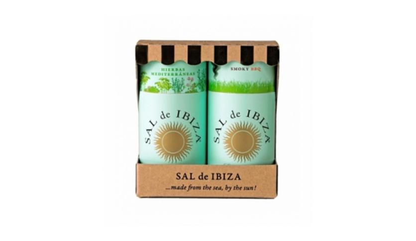 Local products Pack Granito Hierbas & Smoky BBQ 125gr. Sal de Ibiza. 5un.