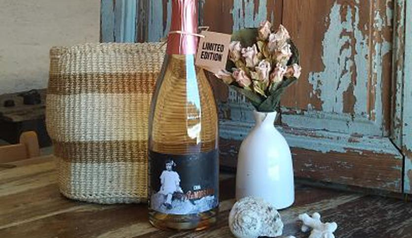 Local products Rosé Sparkling Wine
