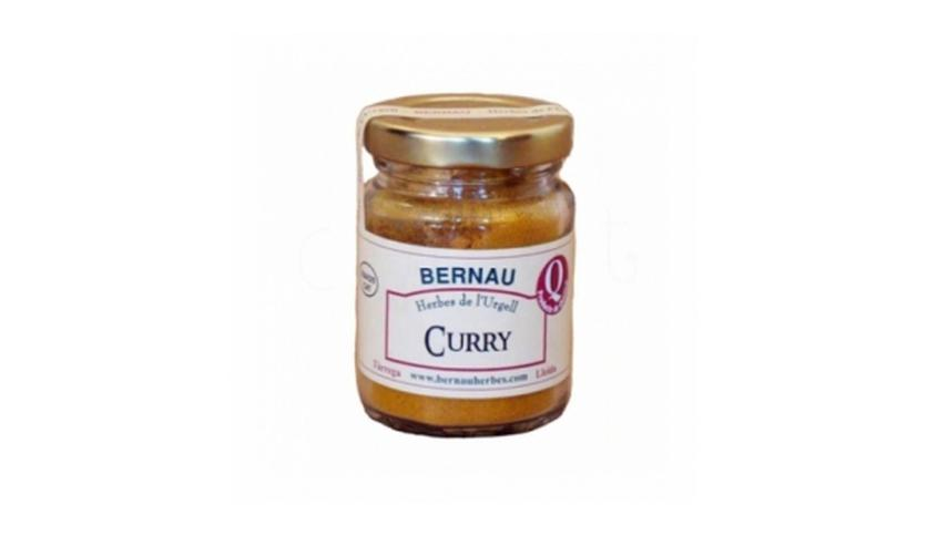 Local products Curry molido 50gr. Bernau Herbes. 12un.