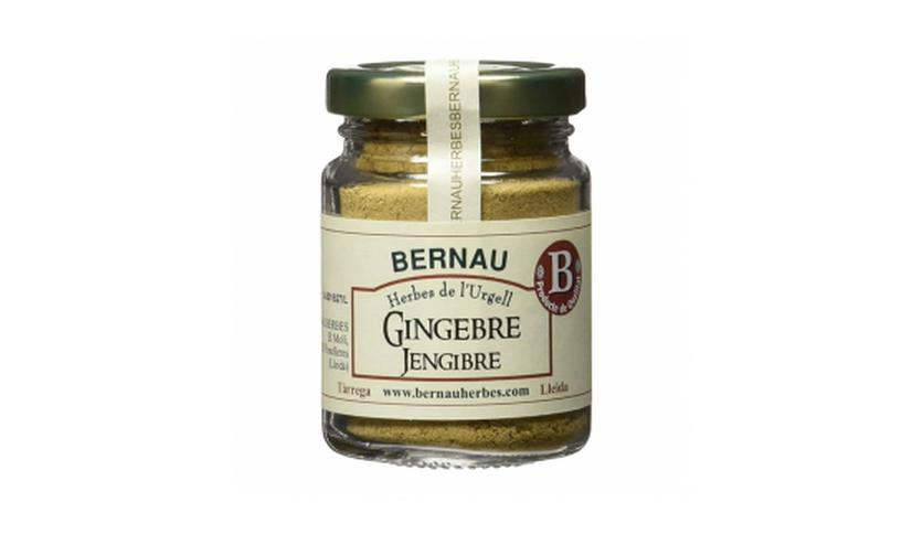 Local products Jengibre molido 40gr. Bernau Herbes. 12un.