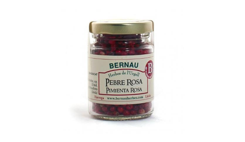 Local products Pimienta rosa en grano 25gr. Bernau Herbes. 12un.