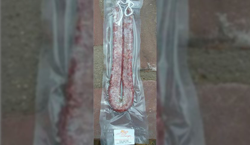 Local products EMBUTIDO LONGANIZA SECA ARTESANAL