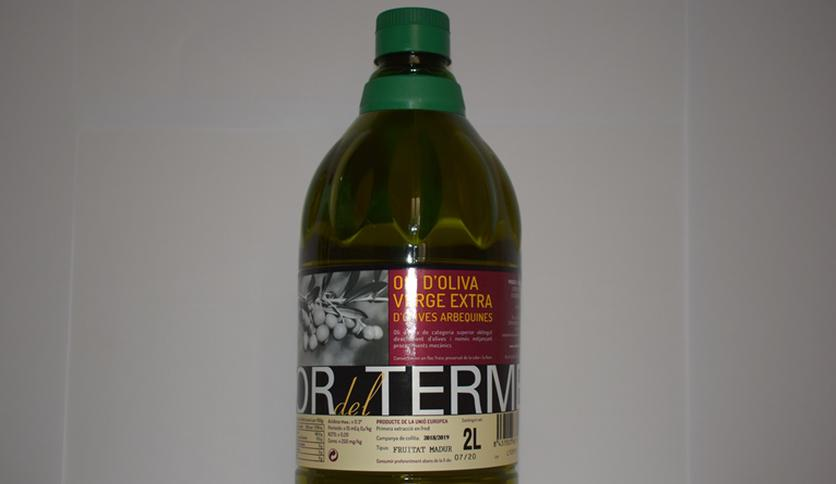 "Local products EXTRA VIRGIN OLIVE OIL PET BOTTLE 2LT ""OR DEL TERME"""
