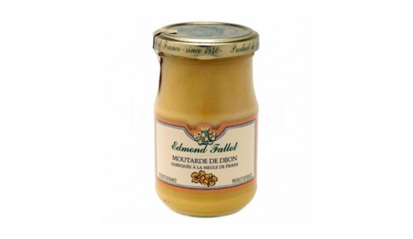 Local products Mostaza Dijon 105gr. Edmond Fallot. 12un.
