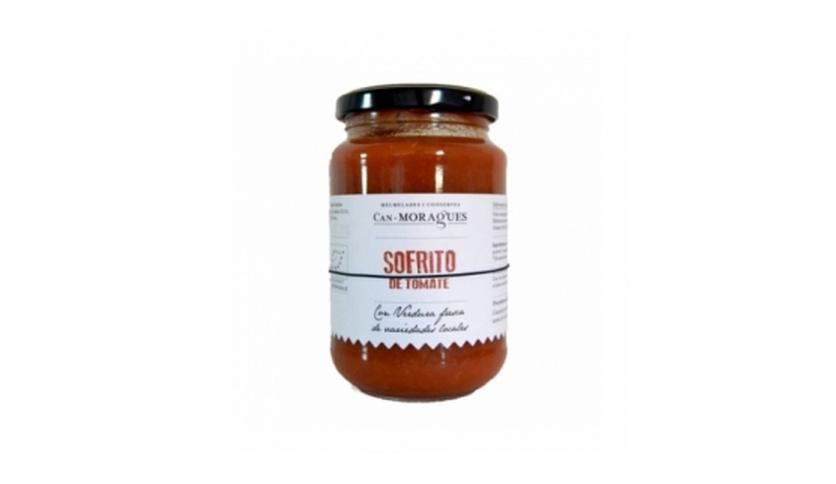 Local products Sofrito de Tomate Ecológico 340gr. Can Moragues. 6un