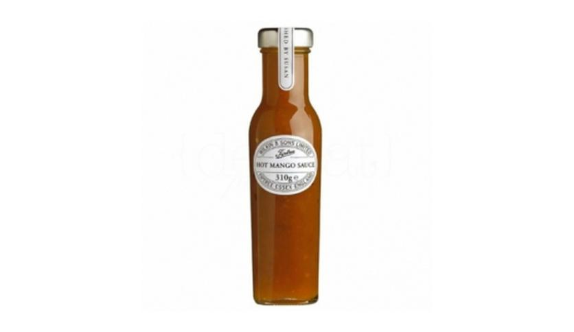 Local products Salsa Hot Mango 310gr. Tiptree. 6un.