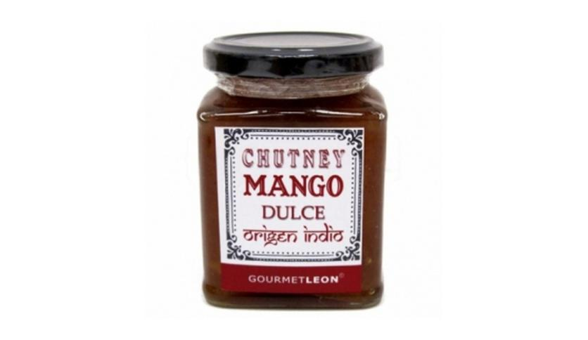 Local products Chutney de mango dulce 250gr. Gourmet Leon. 12un.