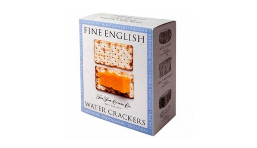 Local products Crackers de Agua 100gr. The Fine Cheese Co. 12un.