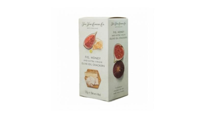 Local products Crackers de AOVE, Higos y Miel 125gr. The Fine Cheese Co. 6un.