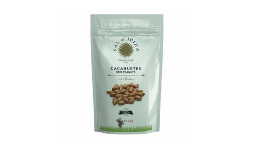 Local products Cacahuetes Smoky BBQ 80gr. Sal de Ibiza. 8un.