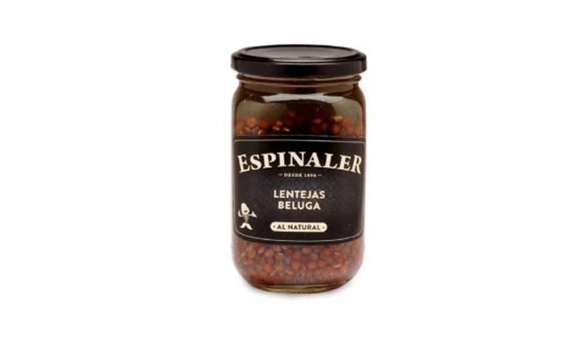 Local products Lentejas beluga 340gr. Espinaler. 12un.
