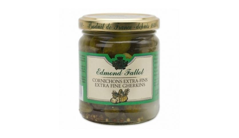Local products Pepinillos 110gr. Edmond Fallot. 12un.