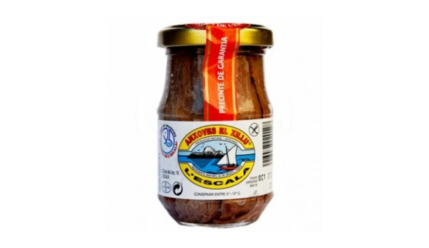 Local products Filete de Anchoa 155gr. Anxoves El Xillu. 8un.