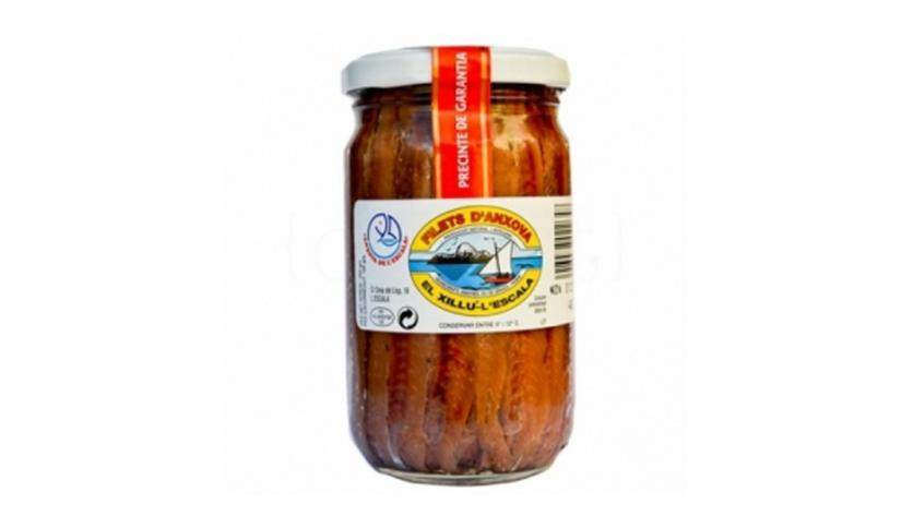 Local products Filete de Anchoa 265gr. Anxoves El Xillu. 6un.