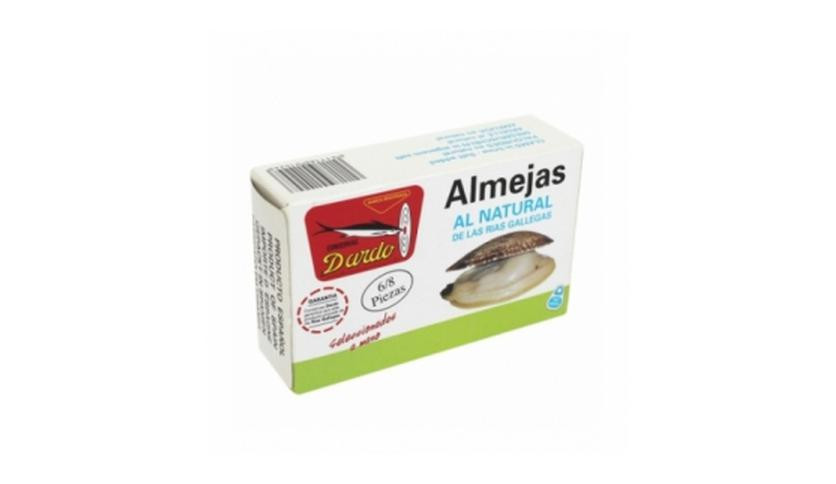 Local products Almejas al natural de Rias Gallegas OL-120, 6/8u. Dardo. 25un.