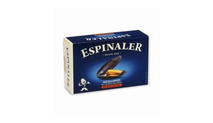 Local products Mejillones en salsa gallega OL-120. Espinaler. 25un.